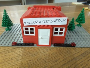 Lego Tamworth Fire Station