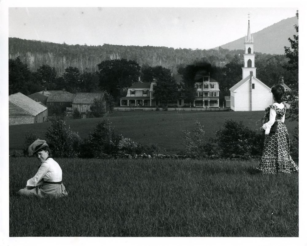View from Great Hill, Tamworth, NH, ca. 1900
