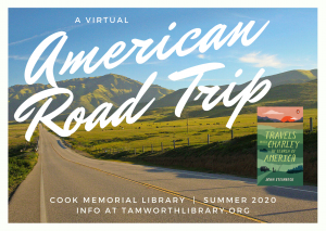 American Road Trip summer reading journey