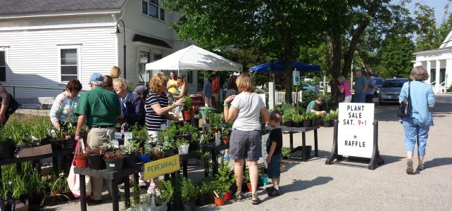 Plant Sale, Book Sale, and Raffle on Saturday