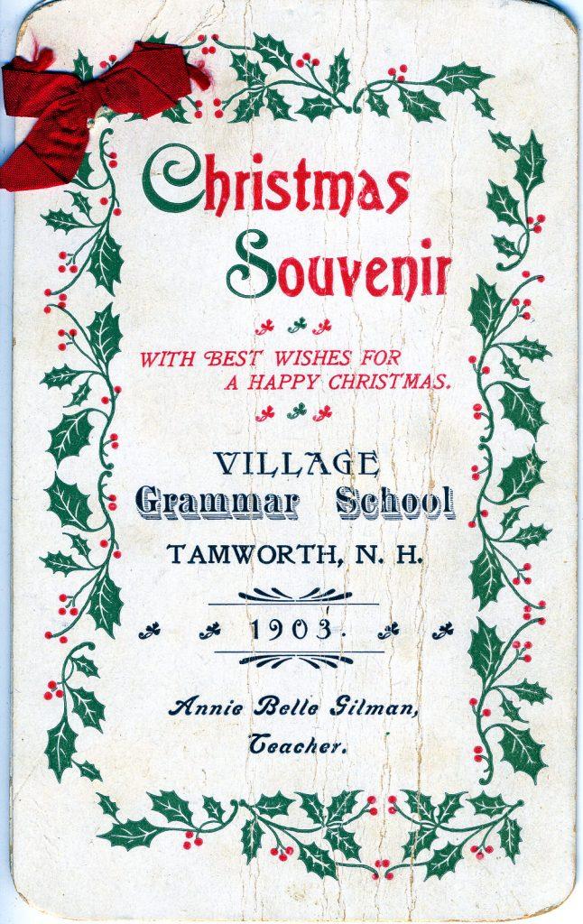 Christmas Souvenir 1903