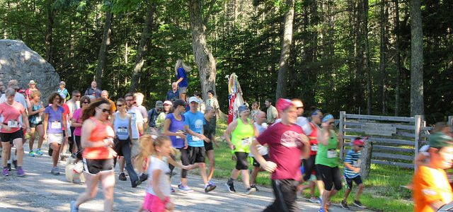 Ordination Rock 5K Race on 4th of July
