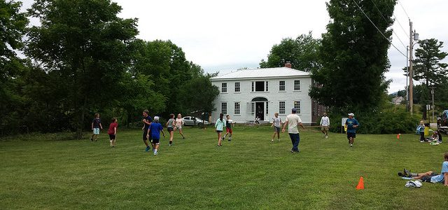 Ultimate Frisbee – two chances to play