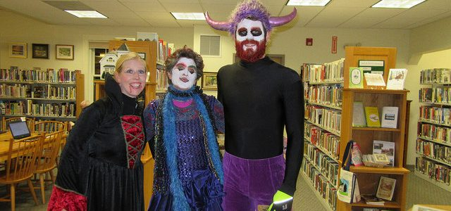 Trick or Treat at your library
