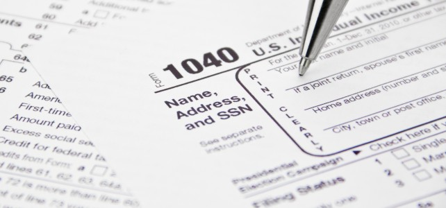 Finding tax forms