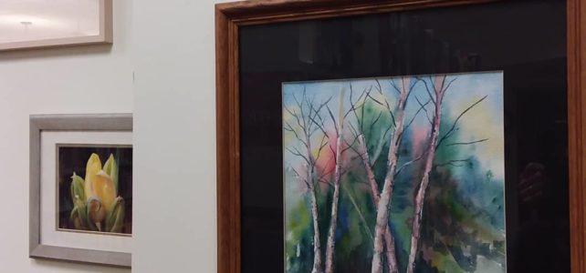 Art exhibit features work by ArtWorks members