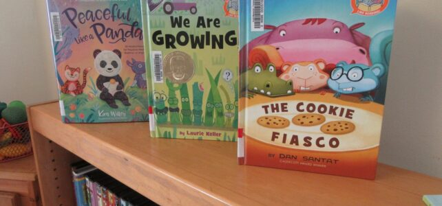 Lots of new books and audiobooks for kids thanks to grant