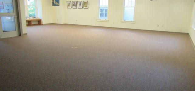Carpeting project, week of 9/23