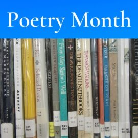Poetry Month – April 2021