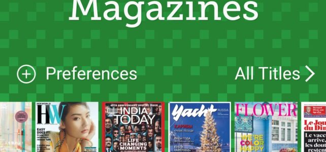 More about digital magazines