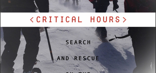 """Critical Hours"" with author Sandy Stott"