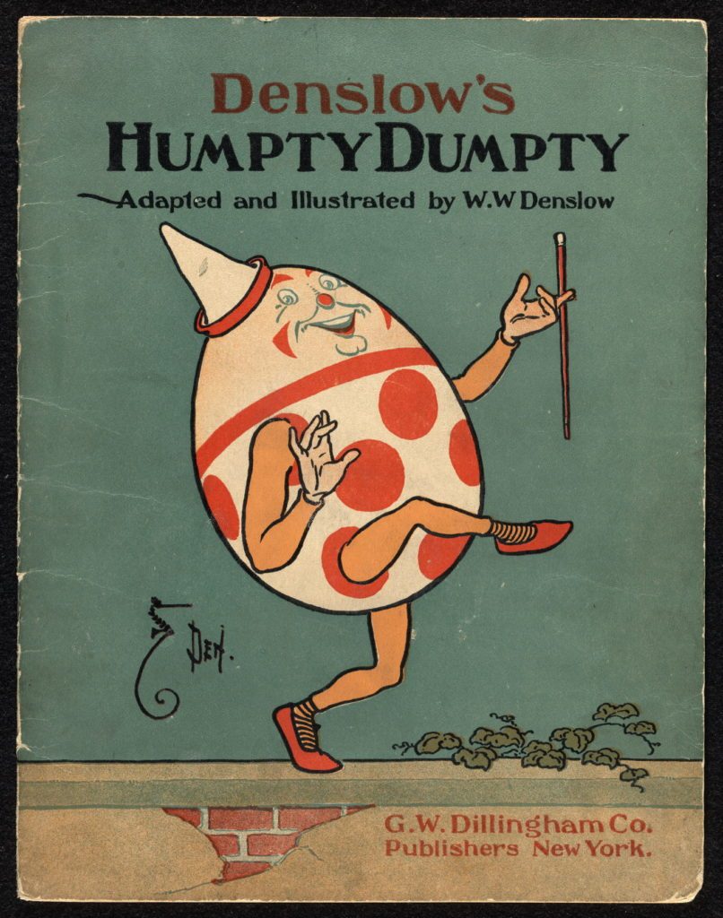Humpty Dumpty antique book cover LOC