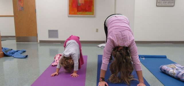 Yoga for Preschoolers is back for the winter