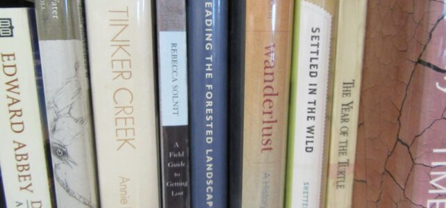 Walk and Talk book group for April