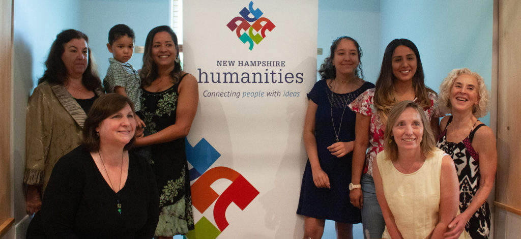 NH Humanities New Voices participants in Portsmouth