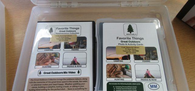 """Favorite Things"" memory kits"