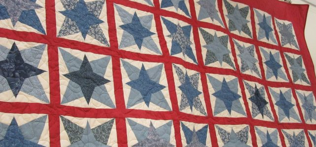 Quilts on display for May and June