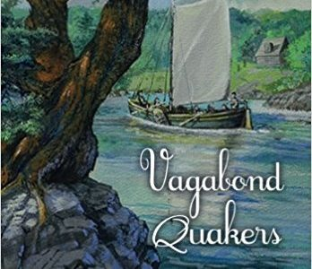 book cover Vagabond Quakers