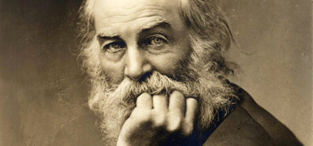 An evening with Walt Whitman
